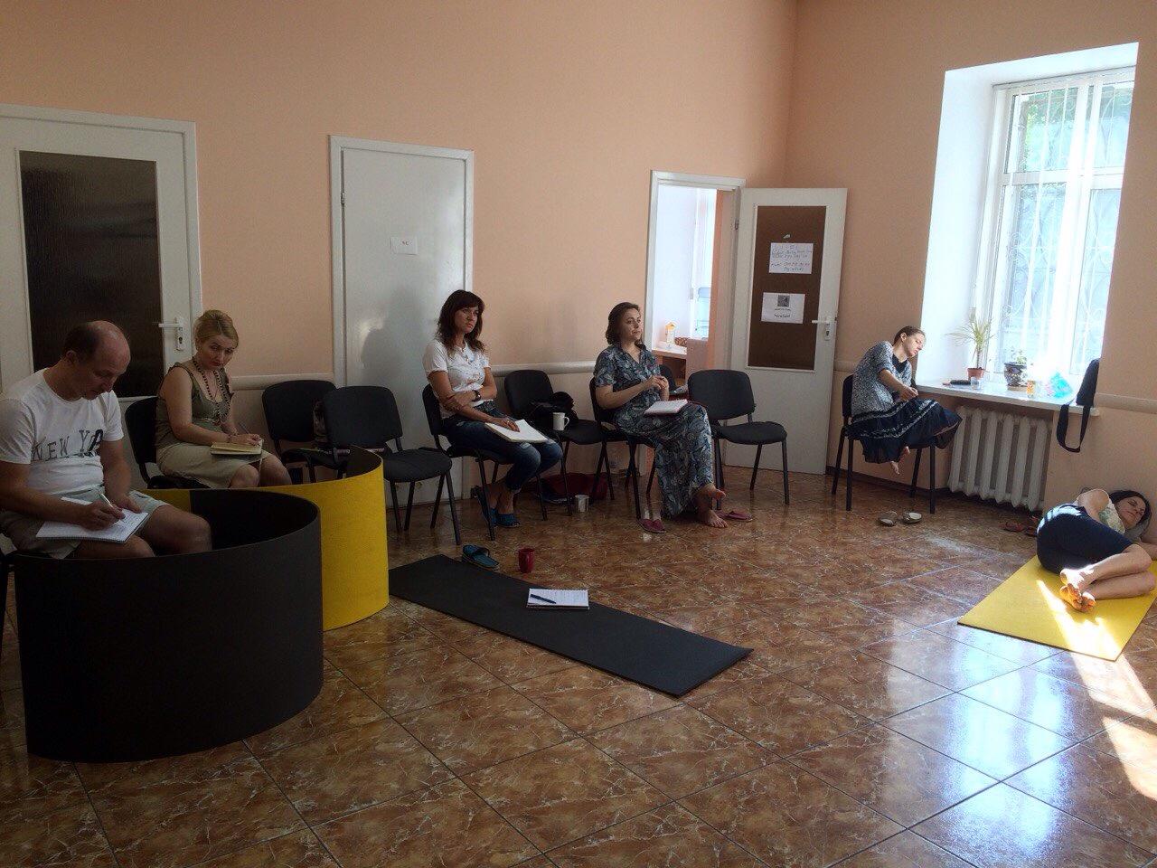 Группа доп. проф. образования, зачет, Киев 2015 г.